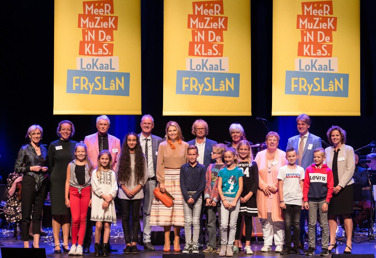 Méér muziek in de klas lokaal Fryslân